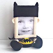 """Куклы и игрушки ручной работы. Ярмарка Мастеров - ручная работа Фоторамка """"Бэтмен"""". Handmade."""