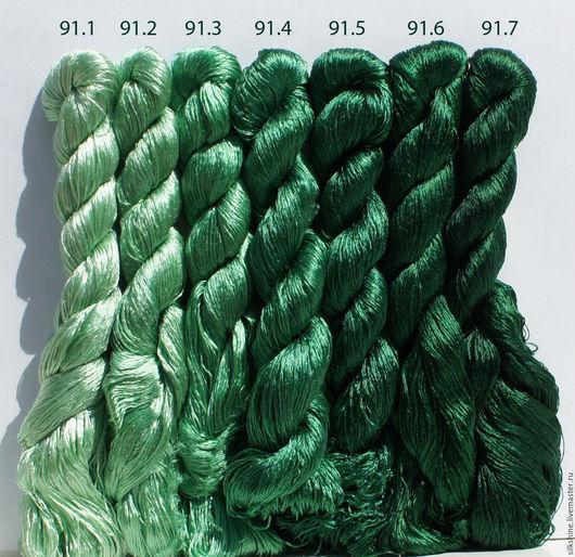 Вышивка ручной работы. Ярмарка Мастеров - ручная работа. Купить Шёлковые нитки. Handmade. Шелк, Нитки, шелковые нитки