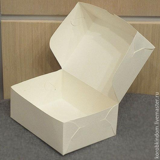 Упаковка ручной работы. Ярмарка Мастеров - ручная работа. Купить Коробочка 15х11х6 кремовая. Handmade. Коробочка, коробка для мыла, хохлома