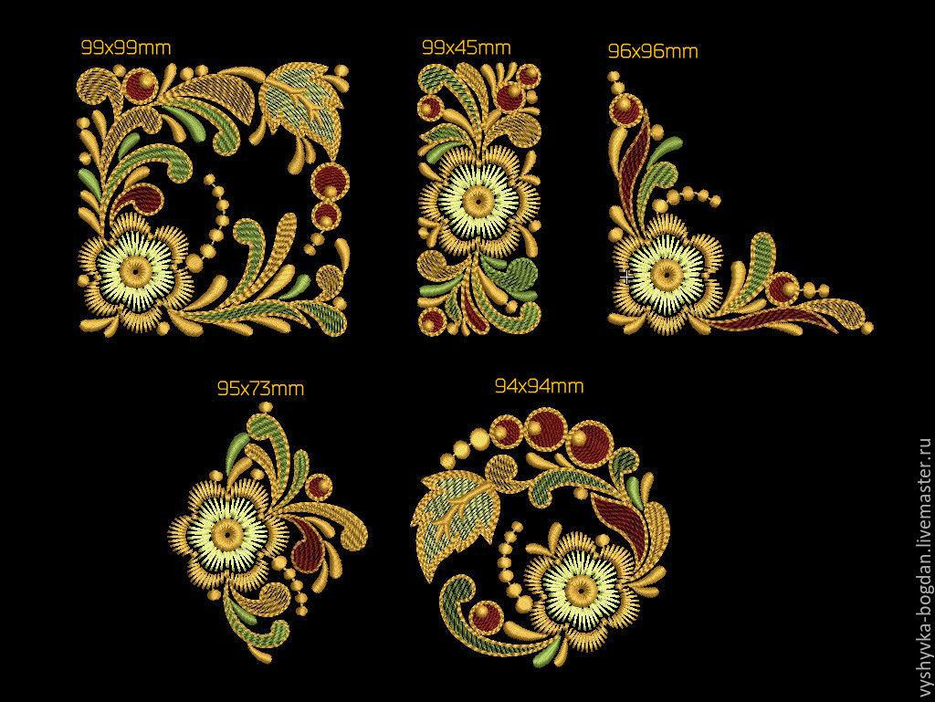 Обмен дизайнами машинной вышивки