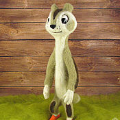 Куклы и игрушки handmade. Livemaster - original item Gopher (m/f