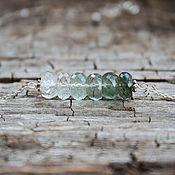 Украшения handmade. Livemaster - original item Set with rutile quartz