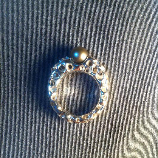 """Кольца ручной работы. Ярмарка Мастеров - ручная работа. Купить Объемное ажурное кольцо""""Кораловый риф"""". Handmade. Необычный подарок, коралл"""