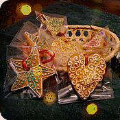 Сувениры и подарки ручной работы. Ярмарка Мастеров - ручная работа Пряник на елку. Handmade.