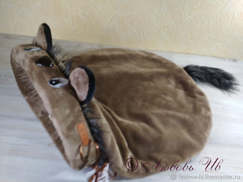The bed - sleeping bag for cats 'Chinchilla' brown, Lodge, Voronezh,  Фото №1