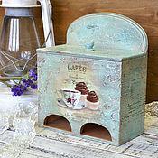 Для дома и интерьера ручной работы. Ярмарка Мастеров - ручная работа Чайный домик двойной Merci. Handmade.