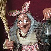 Куклы и игрушки ручной работы. Ярмарка Мастеров - ручная работа Ягуша с фонариком. Handmade.