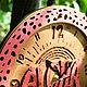 Часы для дома ручной работы. Заказать Часы настенные Алоха Лава. WOODANDROOT. Ярмарка Мастеров. Настенные часы, волны, дерево