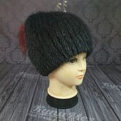 Аксессуары handmade. Livemaster - original item Fur hat made of natural fur.. Handmade.