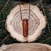 Украшения handmade. Livemaster - original item Mahogany wood aromaculon for essential oils WP52. Handmade.