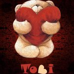 "Медвежонок  ""Тоби"" (TobiBear) - Ярмарка Мастеров - ручная работа, handmade"