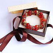Фен-шуй и эзотерика handmade. Livemaster - original item Carnelian bracelet