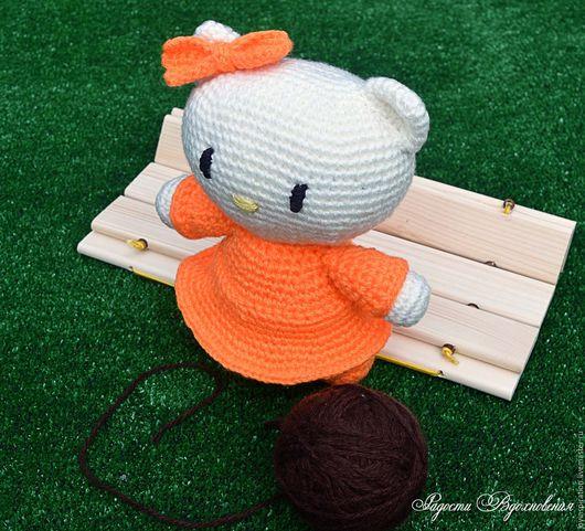 Игрушки животные, ручной работы. Ярмарка Мастеров - ручная работа. Купить Вязаная кошечка-сестрёнка Китти - Мимми (Hello Kitty). Handmade.