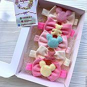 Работы для детей, handmade. Livemaster - original item Bows for kids