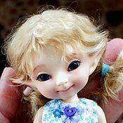 Куклы и игрушки ручной работы. Ярмарка Мастеров - ручная работа Паричок для PukiFee девочки. Handmade.