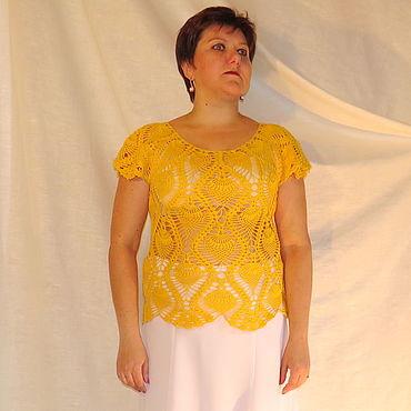 """Одежда ручной работы. Ярмарка Мастеров - ручная работа Кофточка """"ананас"""". Handmade."""