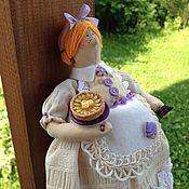 """Куклы и игрушки ручной работы. Ярмарка Мастеров - ручная работа """"Любительница сладостей"""" кукла в стиле Тильда. Handmade."""