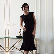 Одежда handmade. Livemaster - original item Dress Jolie from modeling the figure in Italian Jersey. Handmade.