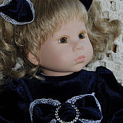 """Куклы и игрушки ручной работы. Ярмарка Мастеров - ручная работа """" Синяя ночь"""".. Handmade."""