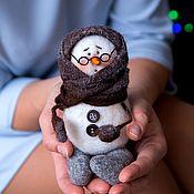 Подарки к праздникам handmade. Livemaster - original item Snowman Maruska. Handmade.