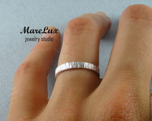 """Кольца ручной работы. Ярмарка Мастеров - ручная работа. Купить Кольцо """"Кора"""" Marelux. Handmade. Серебряный, фактурное кольцо"""