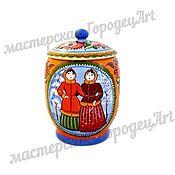 Посуда handmade. Livemaster - original item Supply Skazka (Gorodetskaya Rospis). Handmade.