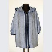 Одежда ручной работы. Ярмарка Мастеров - ручная работа Куртка из шелка. Handmade.