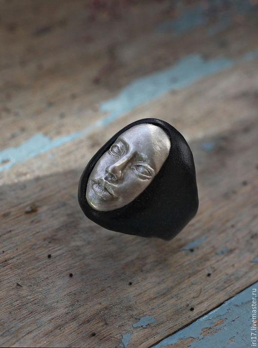 Кольца ручной работы. Ярмарка Мастеров - ручная работа. Купить Кольцо Silver Angel Серебряное кольцо с лицом. Handmade. Серебряный