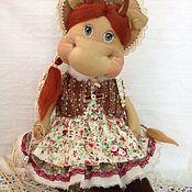 Куклы и игрушки ручной работы. Ярмарка Мастеров - ручная работа Коровка  Маша. Handmade.