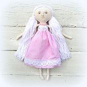 Куклы и игрушки ручной работы. Ярмарка Мастеров - ручная работа Игровая текстильная кукла розовая мечта. Handmade.