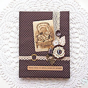 Канцелярские товары handmade. Livemaster - original item The cover of the school diary