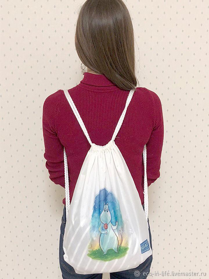 Рюкзак-мешок «Муми-тролли»