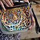 """Кожано-валяная сумка """"Лео"""" женская. Классическая сумка. Валяная обувь, сумки, палантины (newvoilok). Ярмарка Мастеров.  Фото №4"""