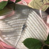 handmade. Livemaster - original item Bracelet with a Girl (fidget). Handmade.
