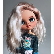 Кастом ручной работы. Ярмарка Мастеров - ручная работа Куклы: коллекционная кукла Блайз (Blythe). Handmade.