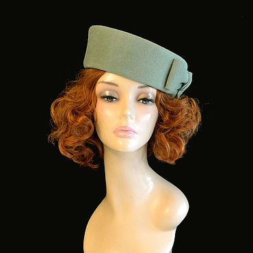 Аксессуары ручной работы. Ярмарка Мастеров - ручная работа Шляпы: Мята. Handmade.