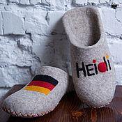 Обувь ручной работы handmade. Livemaster - original item Felted Slippers women. Handmade.