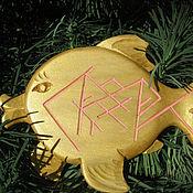 Фен-шуй и эзотерика ручной работы. Ярмарка Мастеров - ручная работа Золотая рыбка. Handmade.