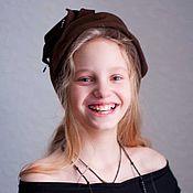 Аксессуары ручной работы. Ярмарка Мастеров - ручная работа детская шляпка менингитка. Handmade.
