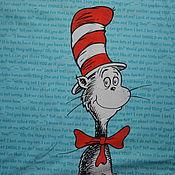 """Набор хлопка для пэчворка """"Кот в шляпе"""". США"""