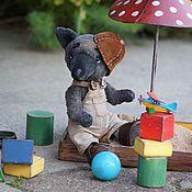 Куклы и игрушки ручной работы. Ярмарка Мастеров - ручная работа Волчонок Волька. Handmade.