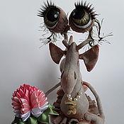 Мягкие игрушки ручной работы. Ярмарка Мастеров - ручная работа Улитка Фина. Handmade.