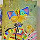 """Кухня ручной работы. Ярмарка Мастеров - ручная работа. Купить Текстильная сумка """"Мартовский кот"""". Handmade. Хозяйственная сумка"""