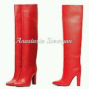 Обувь ручной работы handmade. Livemaster - original item women`s boots. Handmade.