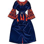 "Одежда handmade. Livemaster - original item Long dress ""Persian Flower"". Handmade."