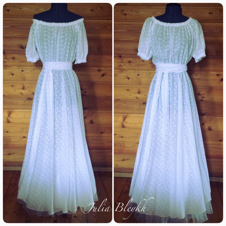 Платья батиста и шитья