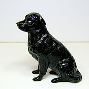 Для дома и интерьера ручной работы. Ярмарка Мастеров - ручная работа Фарфоровая собака (Лабрадор). Handmade.