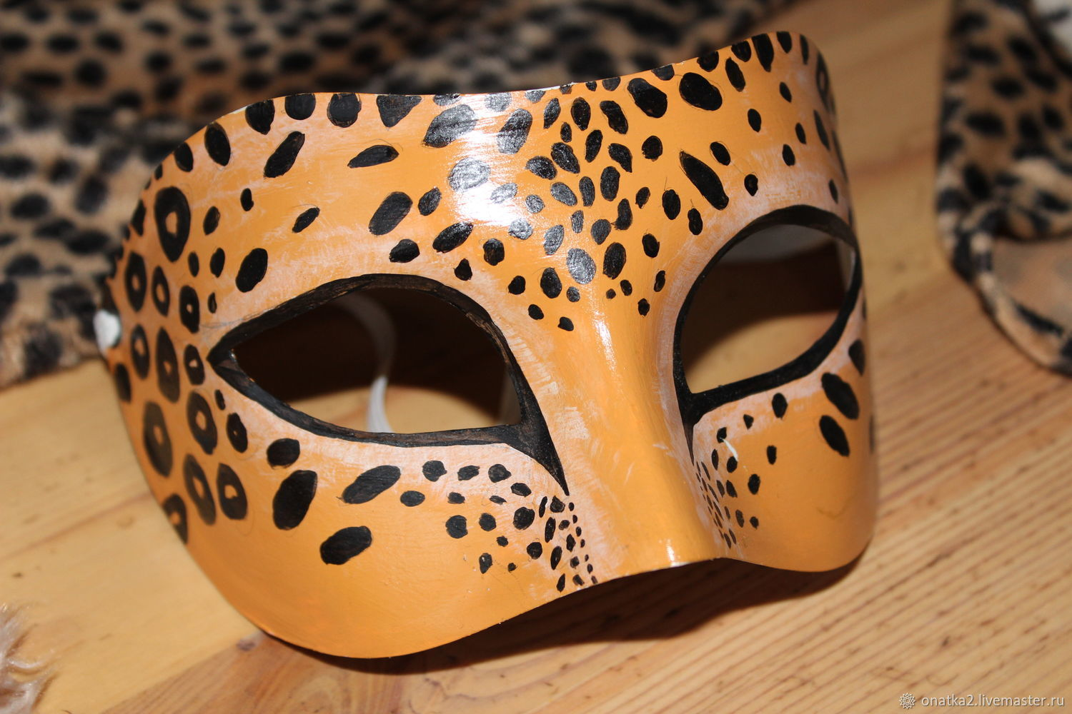 e6b359aea635 The leopard (costume with a mask) – shop online on Livemaster with ...