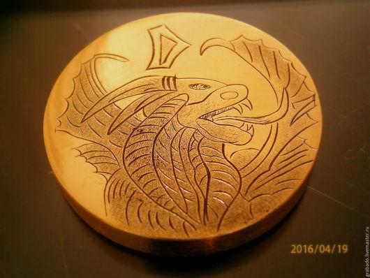 """Миниатюрные модели ручной работы. Ярмарка Мастеров - ручная работа. Купить сувенир""""Дракон"""". Handmade. Золотой, подарок на любой случай"""