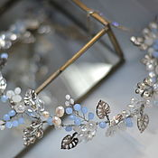 Украшения handmade. Livemaster - original item The twig in the bride`s hairstyle.. Handmade.